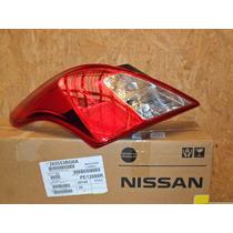Lanterna Traseira L.e C/lampada,nissan Versa Nova C/ Detalhe