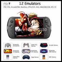 Jxd S7800b 2 Gb Ram 16 Gb Quad Core Ps1 N64 Psp Gba Nds