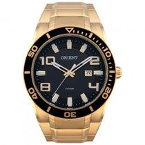 Relógio Orient Mgss1071 P2kx Dourado Preto - Refinado