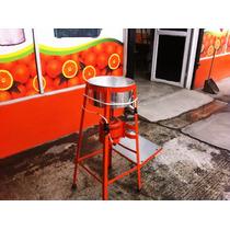 Exprimidor De Jugos De Naranjas Con Motor 1/4 De Aluminio