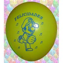 Mario Bros Globos De Látex Para Fiesta O Cumpleaños
