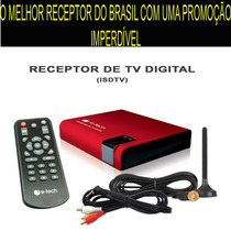 Receptor/antena Tv Digital Automotivo.tv No Dvd Do Seu Carro