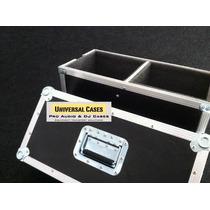Road Case Duplo Para Monitores Yamaha Hs80
