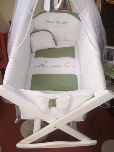 Cuna moises corral coche ropa de bebe manta mosquitero - Moises o cuna ...