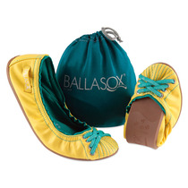 Sapatilha Ballasox Pimenta Anjo Amarelo Verde Brasil