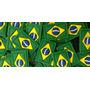 1000 Bandeirinhas Do Brasil Para Tiras De Chinelos
