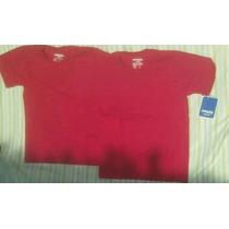 Franelas Ovejita Talla 8 Color Rojo