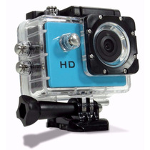 Filmadora Câmera Capacete Esporte Mergulho Moto Bike Cros Hd
