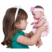 Boneca Baby Ninos Bebê Recém Nascido Com Certidão - Cotiplás