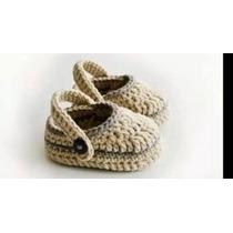Zapatitos Tejidos De Bebe Varon Niño Botas Zapatos Sandalias