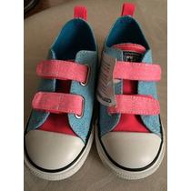 Zapato Converse Niña Talla 10 Mide 19 Cm