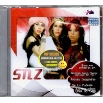 Cd Snz Remixes Com Faixa Inédita Dna Do Som - Raro Lacrado
