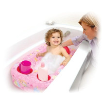 Disney Princess - Bañera De Seguridad Inflables Para Bebé