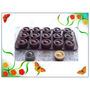 Molde Silicón Mini: Jabón Vela Chocolate Cupcake Tipo Helado