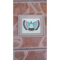 Cuadro The Thunderbird Hecho De Arena New Mexico U.s.a¡¡¡¡