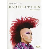 Dvd Original Dead Or Alive Evolution Vídeos & Rip It Up Live