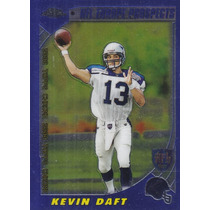 2000 Topps Chrome Europe Kevin Daft Qb Titans