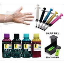 Kit Tinta Cartucho Canon Pg40/pg30/pg50/cl31/cl41/cl+ Snap