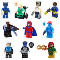 10 X-men Apocalipse Minifigures Lego Comptível Wolverine X10