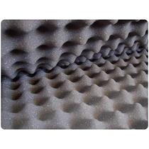 Placa 500x475mm Espuma Acustica Revestimento Estudio S/juros