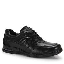 Sapato Casual Conforto Masculino Urbano Manchester - Preto
