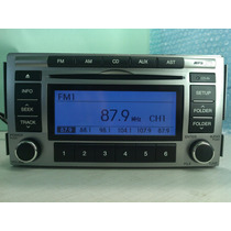 Rádio Cd Mp3 Original Santafé Hyundai 2012