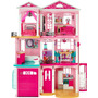 Casa De Los Sueños De La Barbie Cjr47 - Rosada