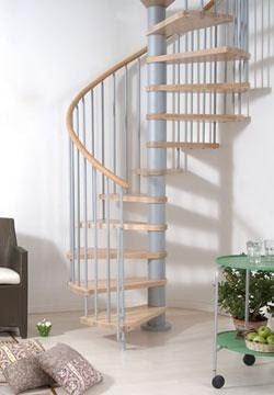 escalera caracol hierro madera precio x escalon