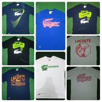 Camisa Camiseta Lacoste Live Polo Ecko Original Peru Atacado