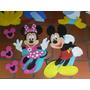 Mickey Minnie Disney De 80cm En Foami Entrega Inmediata