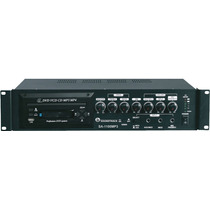 Amplificador De Audio Y Publidifusion Montable Rack