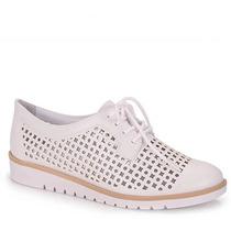 Sapato Oxford Conforto Feminino Ramarim - Branco