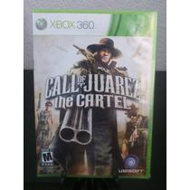 Call Of Juarez The Cartel Xbox 360 Nuevo De Fabrica