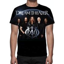 Camisa, Camiseta Série Banda Dream Theater - Estampa Total