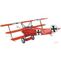 Guillows Avion Fokker Dr1 Triplano P/armar Madera Balsa 1/14