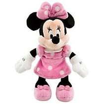 Pelúcia Disney Original Casa Do Mickey - Minnie Rosa 20cm