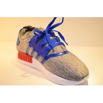 Zapatos Adidas Nmd Gris Azul Claro