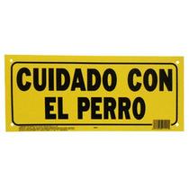 Letrero 15x35cm Cuidado Con El Perro Hy-ko