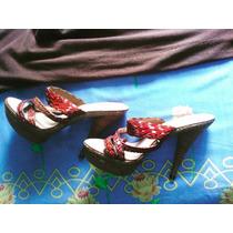 Zapatos De Tacon Cerere 37