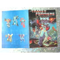 Album De Estampas Los Transformers 1986 Faltan 2