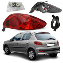 Par Lanterna Red Peugeot 206 2004 A 2008 Serve 98 A 2003