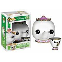Funko Pop Disney: Mrs Potts & Chip A Bela E A Fera #92