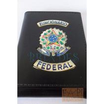 Porta Cheques Notas Funcionário Federal C56p Não Tem Agente