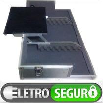 Case Pra Kit 2 Cdjs Numark Ndx 400 + Mixer De Até 5 Canais