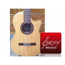 Guitarra Criolla Romantica D Pro 1/2 Caja Con Corte Y Eq