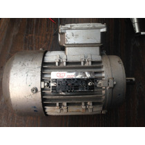 Motor Electrico 1 Hp 4 Polos Brida Europera Trifasico
