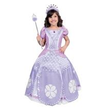 Disfraz Princesita Sofia Niña Original Carnavalito