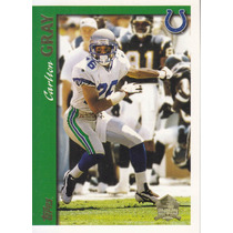 1997 Topps Minted In Canton Carlton Gray Cb Colts