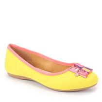 Sapatilha Infantil Grendene Barbie - 23 Ao 34 - Amarelo