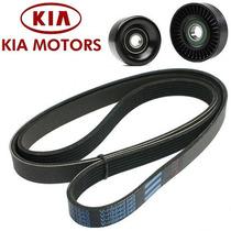 Kit Correia Alternador Kia Cerato 1.6 16v 08/...252122b000